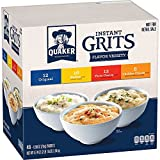 Quaker Instant Grits Variety Pack, 0.98 oz, 48 Count