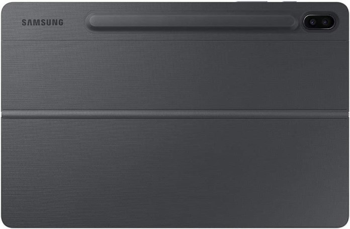 Samsung Tab S6 Bookcover Keyboard Grey Amazon Co Uk Electronics