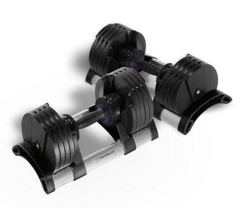 StairMaster TwistLock Adjustable Dumbbells