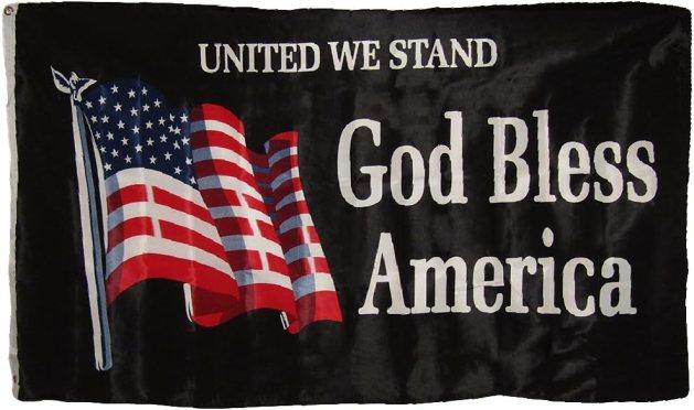 Amazon.com : 3x5 United We Stand God Bless America USA American ...
