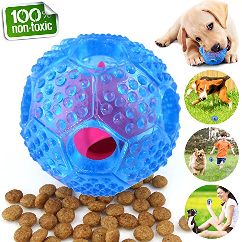 CHLEBEM Interactive Dog Toys, Dog Chew Toys Ball for Small Medium Dogs, IQ Treat...
