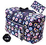 Large Travel Duffel Bag Foldable Large Travel Bag Weekend Bag Checked Bag Luggage Tote 18 Style 21.6IN x 9.8IN x 13.7IN (cat)