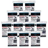 General Medi Emergency Blanket (12-Pack),Emergency Foil Blanket- Perfect for Outdoors, Hiking, Survival, Marathons or First Aid