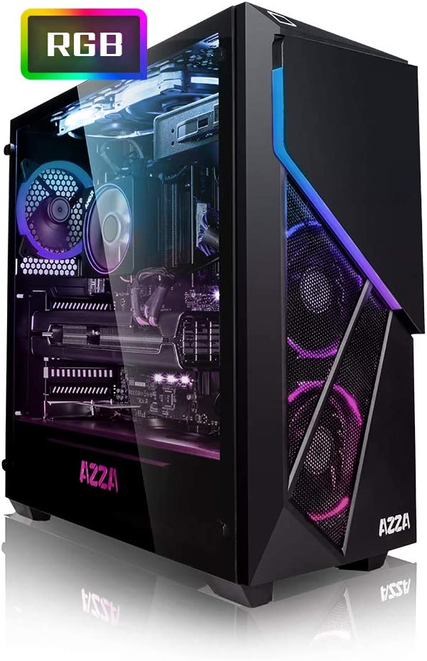 Megaport PC Gamer Jet II AMD Ryzen 5 2600X 6X 3,60 GHz • GeForce RTX2060 6Go • 16Go DDR4 • 240Go SSD • 1To • Windows 10 • WiFi • USB3.0 Unité Centrale Ordinateur de Bureau