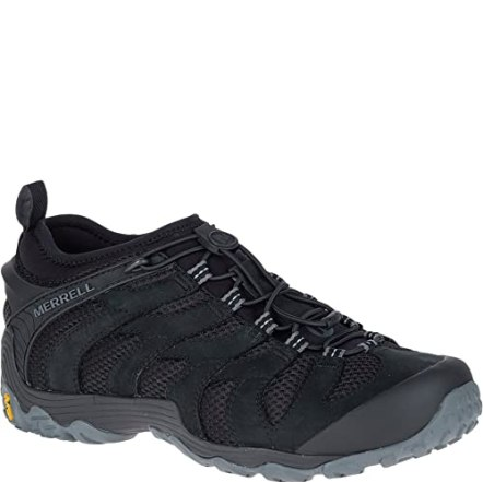 Merrell Chameleon 7 Stretch Hiking Shoes - Black - Mens - 10
