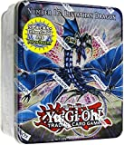 YuGiOh ZEXAL 2011 Wave 1 Holiday Tin Number 17 Leviath Dragon Includes 5 Packs + Pot of Duality, Stygian Street Patrol, Beast King Barbaros Dark Simorgh