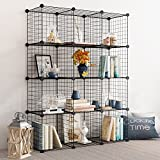 Product review for Tespo Metal Wire Storage Cubes, Modular Shelving Grids, DIY Closet Organization System, Bookcase, Cabinet, (12 - Regular Cube.)