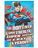 American Greetings Superman Valentine's Day Card with Foil