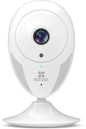 Ιταλικό Amazon | EZVIZ indoor camera ip camera WiFi 1080P indoor surveillance camera night vision warning two-way audio movement wide angle mobile app compatible with Alexa model CTQ2C