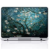 Meffort Inc 17 17.3 Inch Laptop Notebook Skin Sticker Cover Art Decal (Free wrist pad) - Vincent van Gogh Almond Blossoming