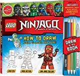 KLUTZ LEGO NINJAGO How To Draw Ninja, Villains, And More! Drawing Set