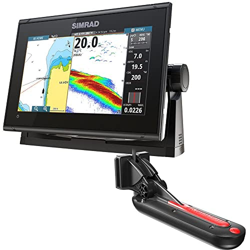 Simrad GO9 XSE Chartplotter/Fishfinder w/TotalScan Transducer
