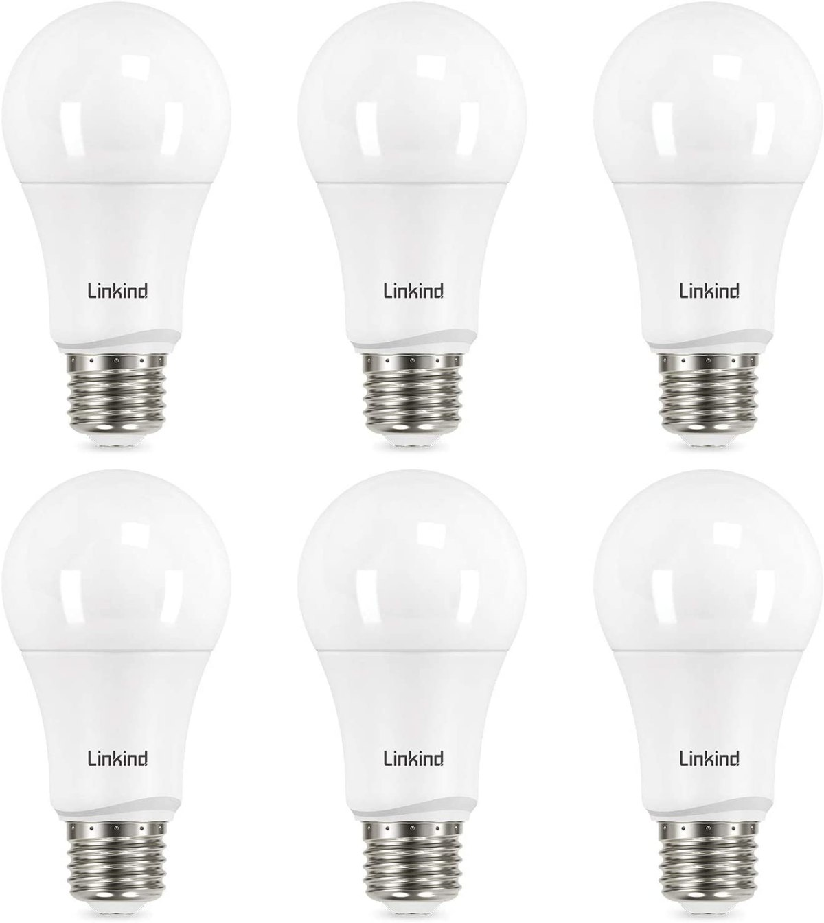 Lindink A19 Dimmable LED light bulb