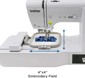 Wide Embroidery Area