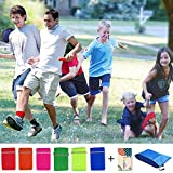 Durable 6 PCS 3 Legged Race Bands Outdoor Carnival Game for Kids Adults Family Relay Race Carnival Field Day Backyard Birthday Team Party Games
