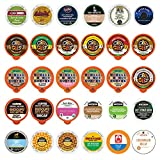 Decaf Coffee Variety Pack Sampler for Keurig K-Cup Coffee Machines, 30 Count (All unique cups, no duplicates)