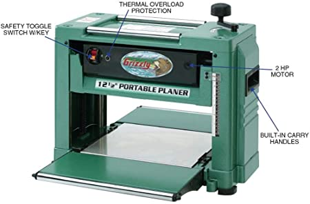 Grizzly-G0505-Benchtop-Planer
