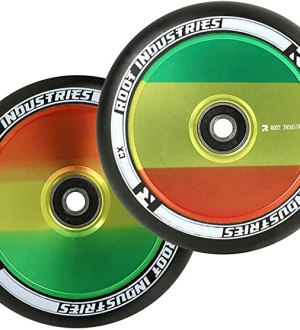 Best Scooter wheels: Root Industries AIR Pro Stunt Trick Kick Scooter Wheels