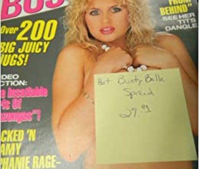 Amazon Com Bra Busters Busty Adult Magazine No 5 1990 Hot Busty Belle Spread Bra Busters Books
