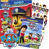 PAW Patrol Coloring Book and Stickers - 295 Stickers!