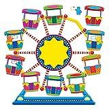 TREND enterprises, Inc. T-8417 Ferris Wheel Job Chart Plus Bulletin Board Set