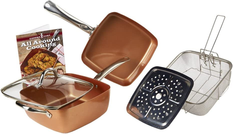 Copper Chef XL Cookware Set