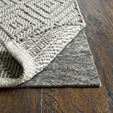 RUGPADUSA, Anchor Grip, 2'x6', 1/8' Thick, Felt + Rubber, Low Profile Non-Slip Runner Rug Pad, Available in 3 Thicknesses, Many Custom Sizes, Safe for All Floors