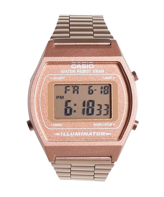 Casio Classic B640WC-5A Rose Gold Watch