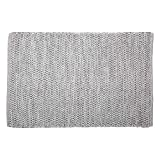 DII CAMZ11086 Contemporary Reversible Machine Washable Recycled Yarn Area Rug for Bedroom, Living Room, and Kitchen, 2 x 3', Diamond Gray