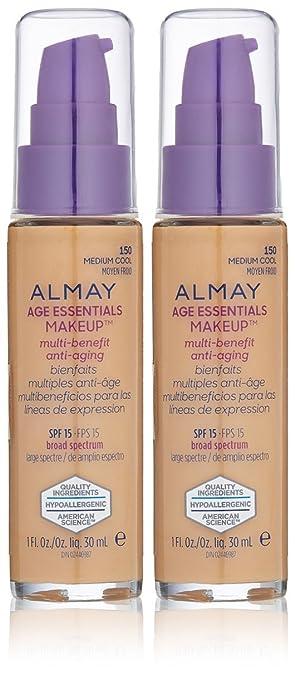 Com Almay Cosmetics Age Essentials Makeup Foundation 150