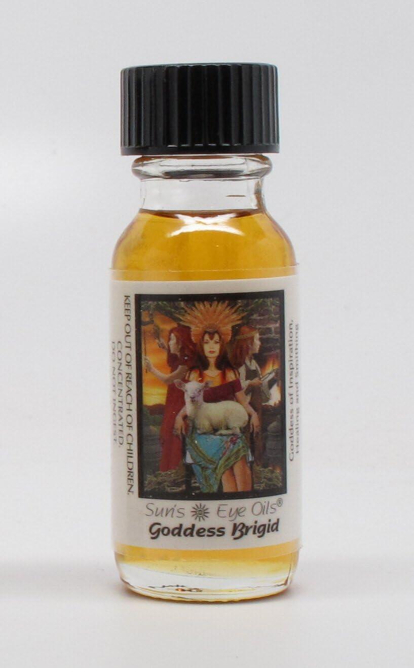 Brigid - Sun's Eye Goddess Oils - 1/2 Ounce Bottle