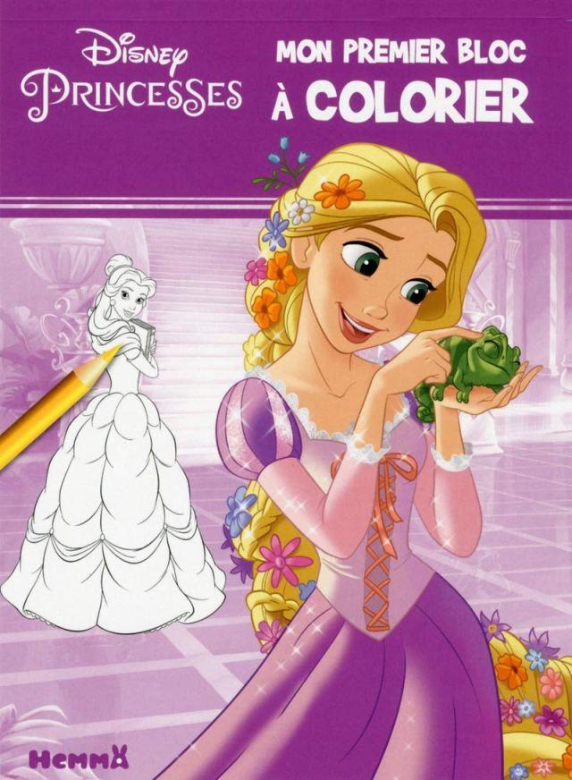 Disney Princesses Mon premier bloc à colorier (Mon premier bloc de