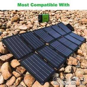 TP-solar-100W-Foldable-Solar-Panel-Charger-Kit-for-Portable-Generator-Power-Station-Smartphones-Laptop-Car-Boat-RV-Trailer-12v-Battery-Charging-Dual-5V-USB-19V-DC-Output