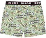 Big Dogs No Hurries Printed Knit Boxers 5X Sage
