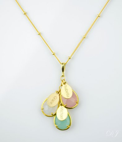 to really get the water works going gift your mom a necklace of yours and your fellow siblings birthstones it will mean so much for her to represent all - Christmas Gift Ideas For Parents Who Have Everything