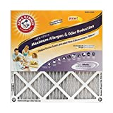 Arm & Hammer Max Allergen & Odor Reduction 20x25x1  Air and Furnace Filter, MERV 11, 4-Pack