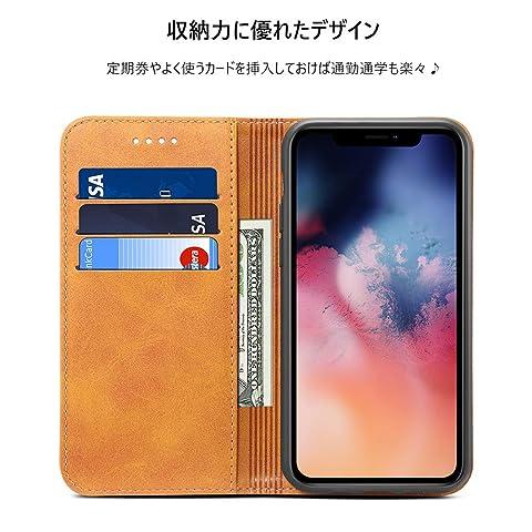 iPhone 11 Pro ケース 手帳型 アイフォン11 Proケース - Rssviss iPhone 11 Pro ケース 手帳 カード収納 スタンド機能 アイフォン11Proケース 手帳型 アイフォン 11 Pro 高級PUレザーケース マグネット アイフォン 11 Pro 財布型 スマホケース(iPhone 11 Pro5.8 inch対応) W1 レトロブラウン