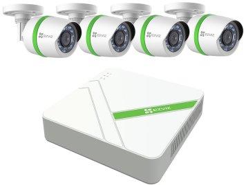 Pack de système de vidéosurveillance DVR Ezviz