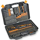 VonHaus 246-Piece Drill and Drive Bit Set with Titanium Coated HSS Bits and Storage Case for Drilling Metal, Masonry, Wood and Plastics