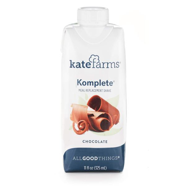 Kate Farms Komplete Chocolate Meal Replacement Shake