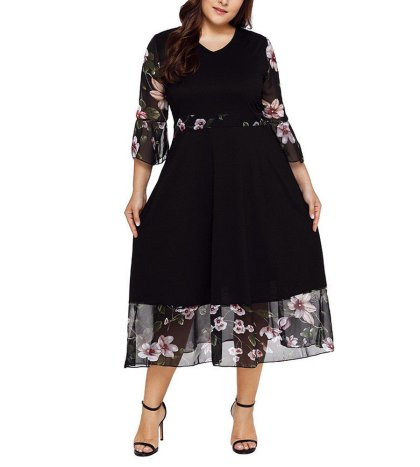 049338b399b Leewos 2018 New! Plus Size Dresses