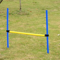 Festnight-Outdoor-Dog-Obstacle-Agility-Training-Exercise-Equipment-Kit