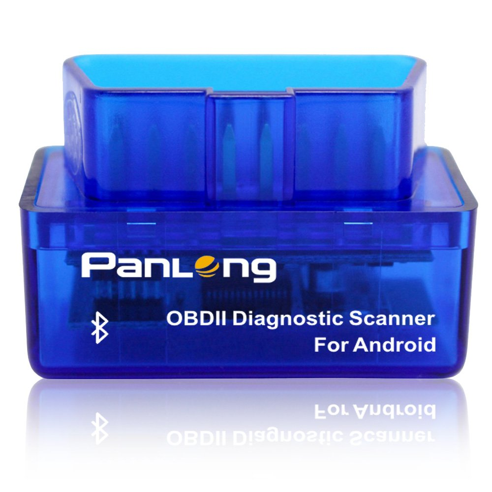 Best Car Diagnostic Scanners Reviews Panlong Bluetooth OBD2 OBDII Car Diagnostic Scanner Check Engine Light for Android - Compatible with Torque Pro