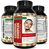 Candida Cleanse Detox Capsules for Men and Women, Natural Candida Supplement Immune System Booster with Anti-Fungal Caprylic Acid and Oregano Leaf with Increase Energy Promote Weight Loss