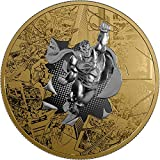 2017 CA Dc Comics Originals PowerCoin SUPERMAN BRAVE AND THE BOLD 3 Oz Silver Coin 50$ Canada 2017 Proof