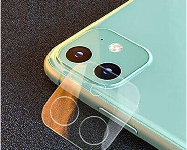 Remixmart™Camera Tempered Glass for iPhone 11 (Camera Tempered Glass only)