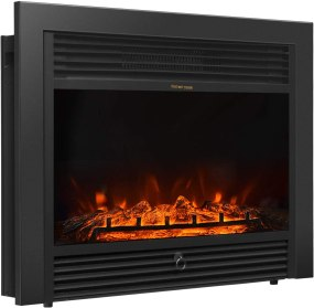 """Giantex 28.5"""" Electric Fireplace Insert Recessed Mounted"""