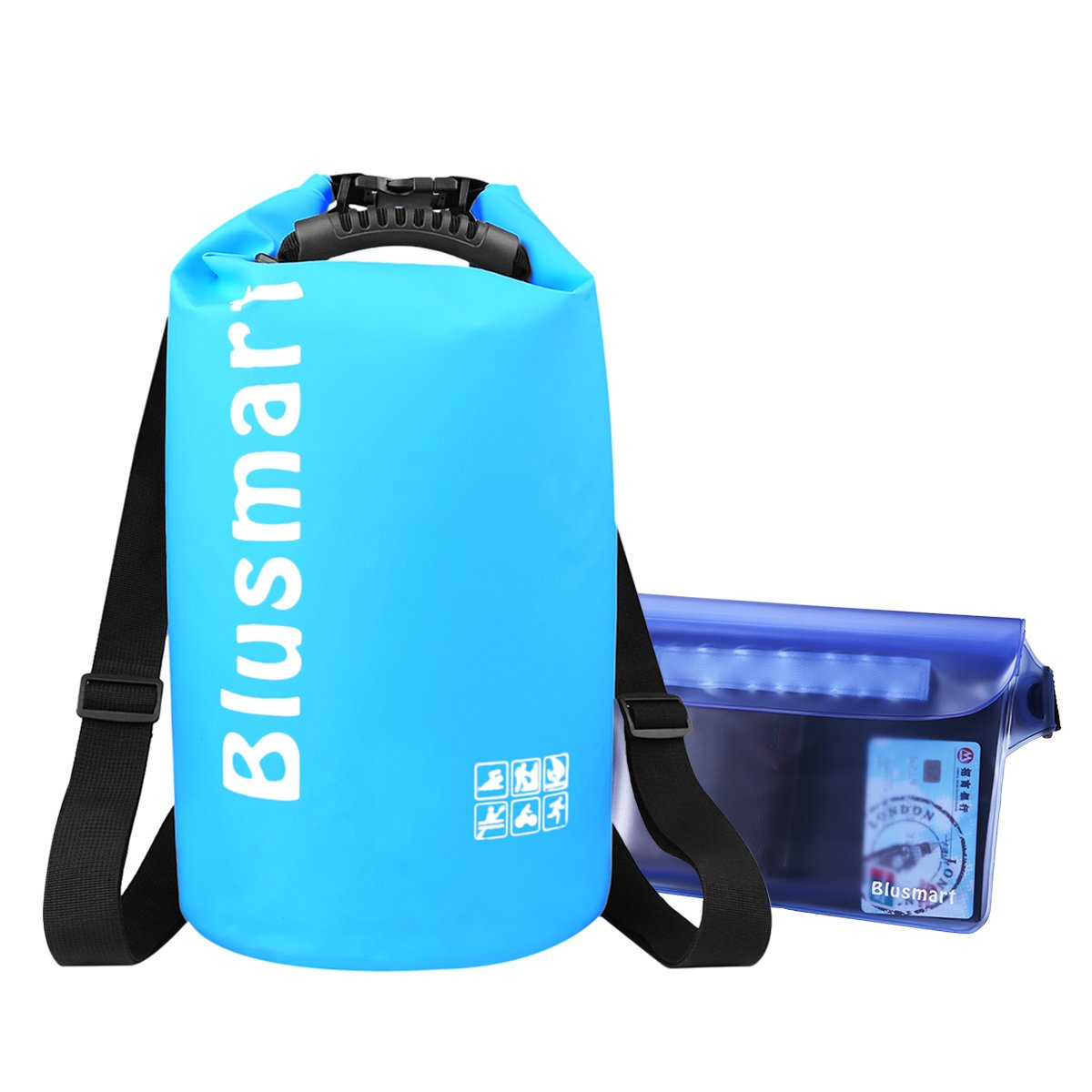 Amazon.com : Blusmart 10L/20L Waterproof Dry Bags We use this dry bag for things we don't want getting wet when we're out on the water.