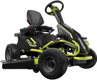 best commercial riding lawn mower for rough terrain - Ryobi