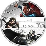 2016 CA Batman V Superman Dawn Of Justic Power Coin E 2 Oz Silver Coin 30$ Canada 2016 62.67 Gr Proof